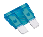LR003731 SBF1550 Automotive Standard Blade Fuse 15A Pack of 50 RTC4503